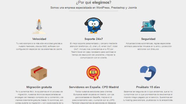 Planes que incluyan Profesional Hosting ssl Certificado